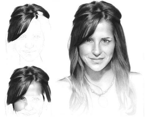 amazing pencil drawings  hair fine art blogger