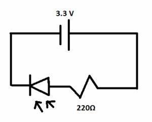 using a breadboard simple led circuit yashtech blog With simple circuit on a breadboard
