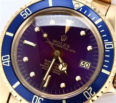 Rolex Submariner 1680 18K Yellow Gold - Submariner Date ...