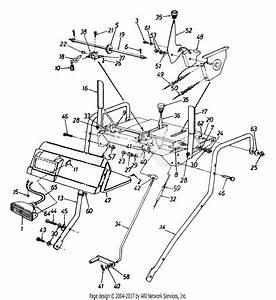 Mtd 315e646f190 Snow Boss 850  1995  Parts Diagram For