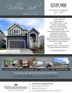 25 best ideas about real estate flyers on pinterest With real estate advertisement template