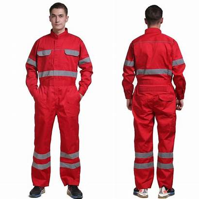 Overalls Workwear Mechanic Wear Reflective Uniforms Clothes