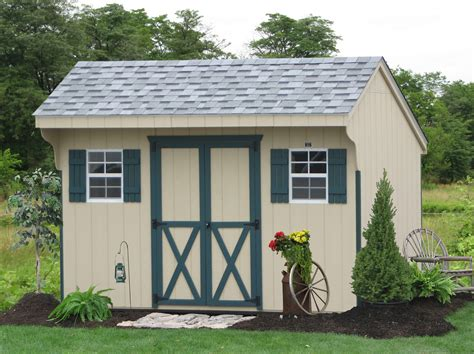 10x14 Shed Plans With Loft by Wooden Sheds Maryland Backyard Sheds Utility Sheds