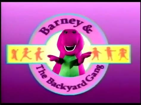 Barney And The Backyard Theme Song by Barney S Sense Sational Day Custom Theme Agaclip Make
