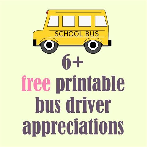 gifts for transport drivers free printable school driver appreciations up driver appreciation school