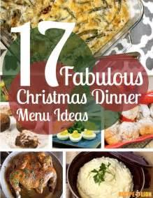 17 fabulous christmas dinner menu ideas free ecookbook recipelion com