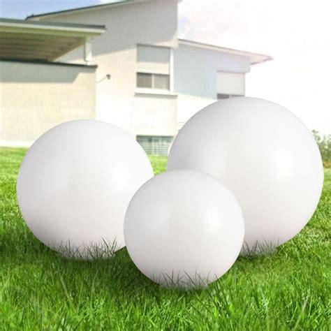 3 X Led Solar Außen Kugelleuchte Kugellampe Gartenleuchten
