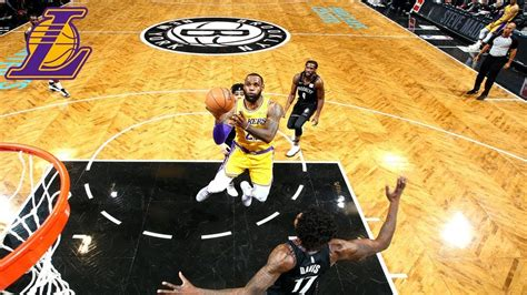 lakers highlights los angeles lakers  brooklyn nets