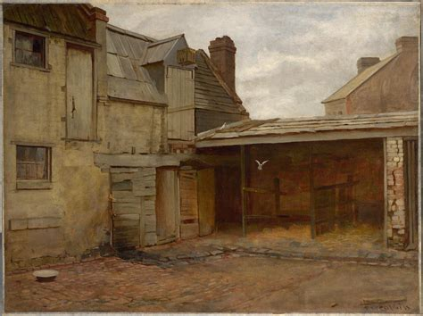 Home Painting Ideas Interior - old stables frederick mccubbin ngv view work