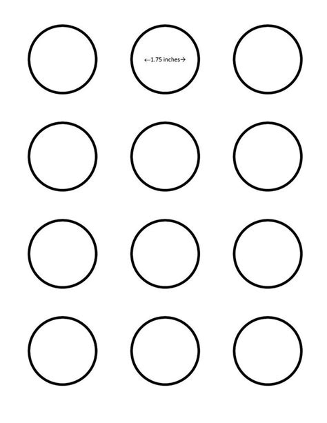 macaron template pdf macaron 1 75 inch circle template search i saved this to my pictures folder for better