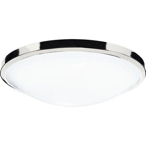 dar lighting dover single light flush low energy bathroom