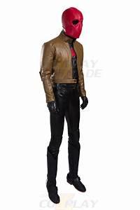 Batman Jason Todd Red Hood Cosplay Halloween Costume ...