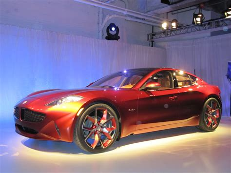 Fisker Atlantic Concept 2018 New York Auto Show Live Photos