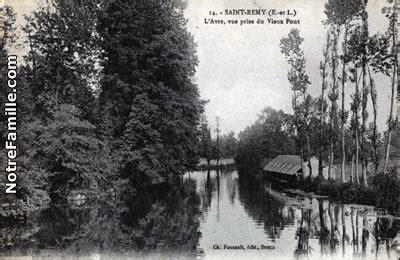 Photos et cartes postales anciennes de Saint-Ru00e9my-sur-Avre 28380