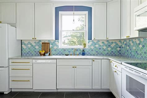 blue backsplash kitchen beautiful blue kitchen design ideas 1721