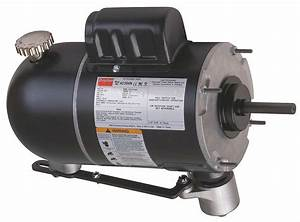 Dayton 1  4 Hp Oscillating Fan Motor  Permanent Split