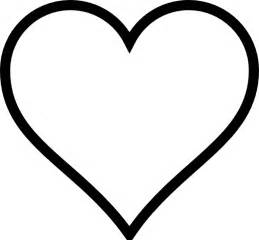 Heart Clip Art Coloring Page