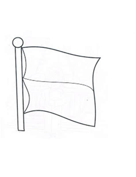 Mewarnai Gambar Bendera Indonesia Untuk Anak Tk Goreng