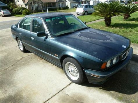Buy Used 1995 Bmw 525i Base Sedan 4door 25l Runs Project