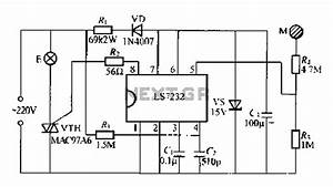Broadband Amplifier With Bias Compensation Circuit Diagram Under Other Circuits
