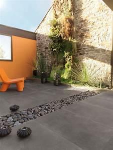 terrasse carrelages et dallages pour l39exterieur With carrelage pour cour exterieure