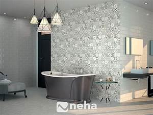 Faience Imitation Carreaux De Ciment : carreau de ciment leroy merlin 4 faience salle de bain ~ Dode.kayakingforconservation.com Idées de Décoration