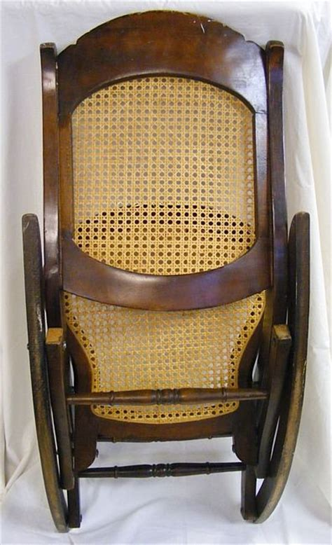 folding rocking chairs beautiful wood wicker