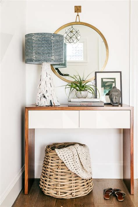 small white entry table 34 stylish console tables for your entryway digsdigs