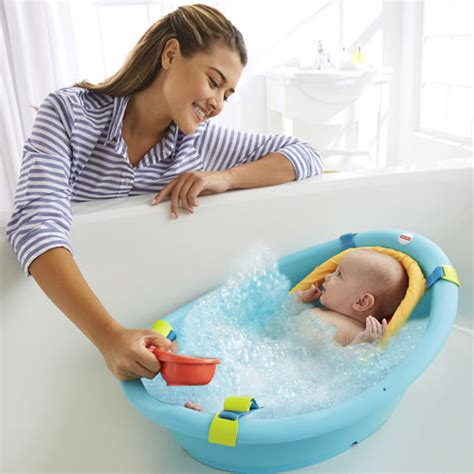 baignoire bebe fisher price rinse n grow tub