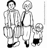 Coloring Parents Pages Preschool Getcoloringpages sketch template