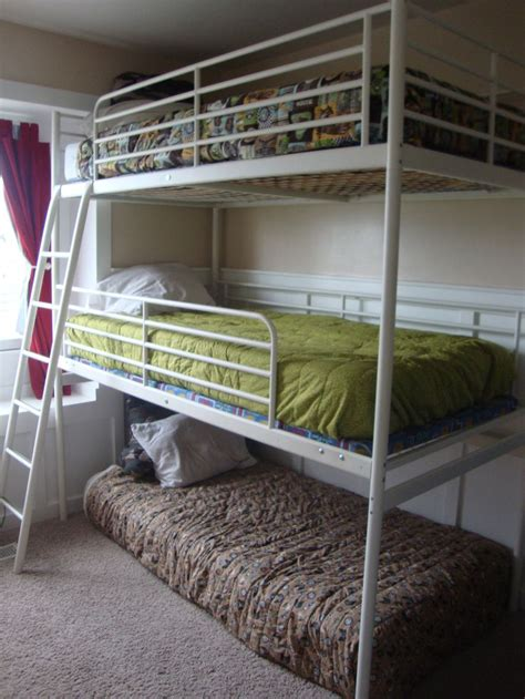 triple bunk bed omg    ikea loft