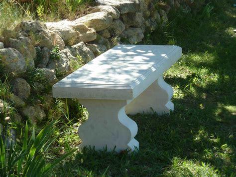 mobilier de jardin en reconstituee banc blanc de jardin en reconstitu 233 e luckyfind