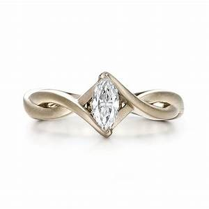 custom solitaire marquise diamond engagement ring 100642 With marquise wedding rings