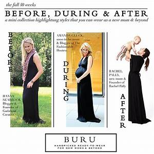 8 Months Pregnant – The 'Before, During, and After' Dress