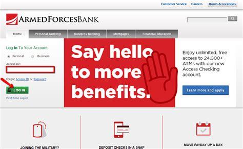 Armed Forces Bank Online Banking Login