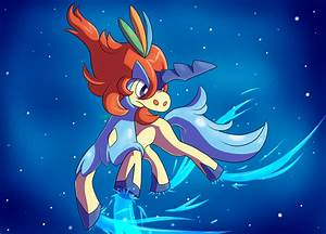 """I will become one of the Swords of Justice! [Keldeo Fan ..."