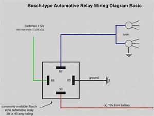 30 Amp Relay Wiring Diagram