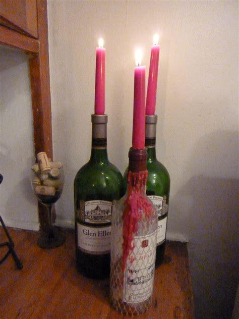 wine bottle candle holder 15 wine bottle candle holder ideas guide patterns