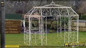 Arche De Jardin En Fer Forgé : pavillon de jardin en fer forg ~ Premium-room.com Idées de Décoration
