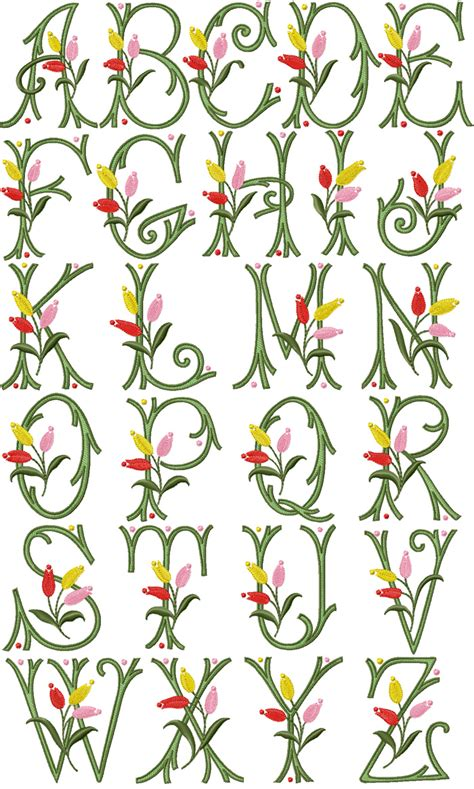 embroidery font pes embroidery origami