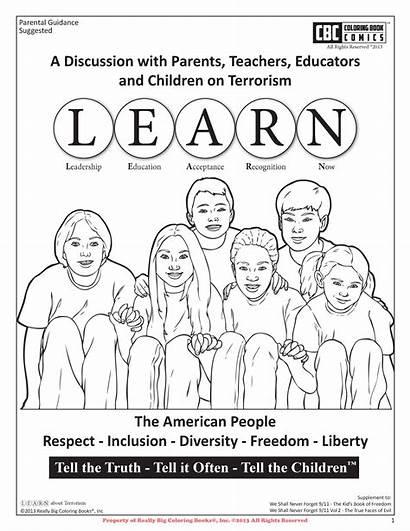 Coloring Terrorism Comics Cbc Learn Books Truth
