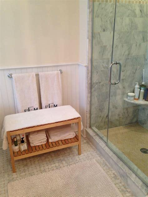 bathroom bench ideas how a ikea bathroom bench helped cure my skin