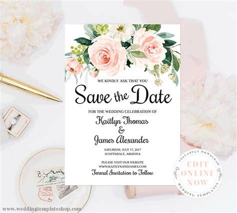 save  date invitations diy printable cards ideas