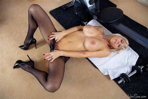 jan burton hot british milf in stockings and pantyhose sex milfs seduction