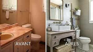 avant apres 3 renovations de salle de bain bienchezmoi With revetement tour de piscine 19 revetement adhesif meuble pas cher
