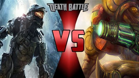 Deathbattle Samus Vs Master Chief By Theperpetual On