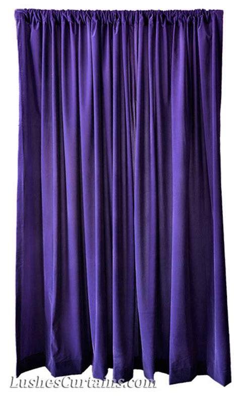 purple velvet drapes 144 inch h purple velvet curtain studio theater