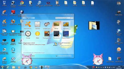 comment mettre un favori sur le bureau mettre un gadget sur écran de ordi bureau