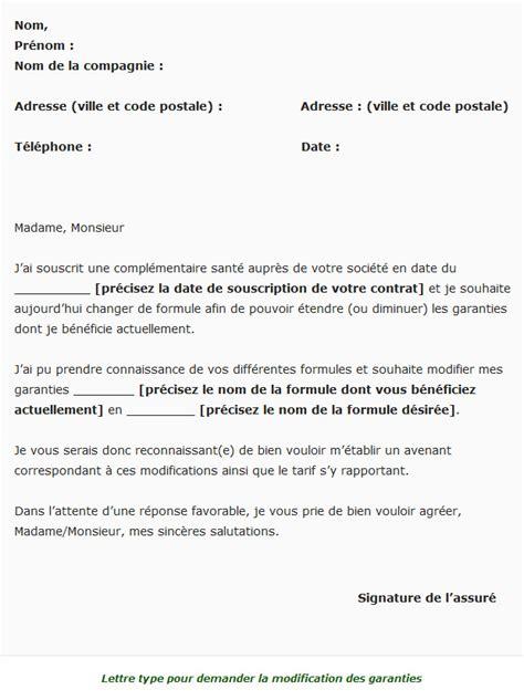 Modification Du Contrat De Travail Ou Changement Des Conditions De Travail by Modifier Contrat Mutuelle Quand Est Ce Possible Et