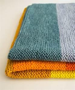easy blanket knitting patterns for beginners   Crochet and ...